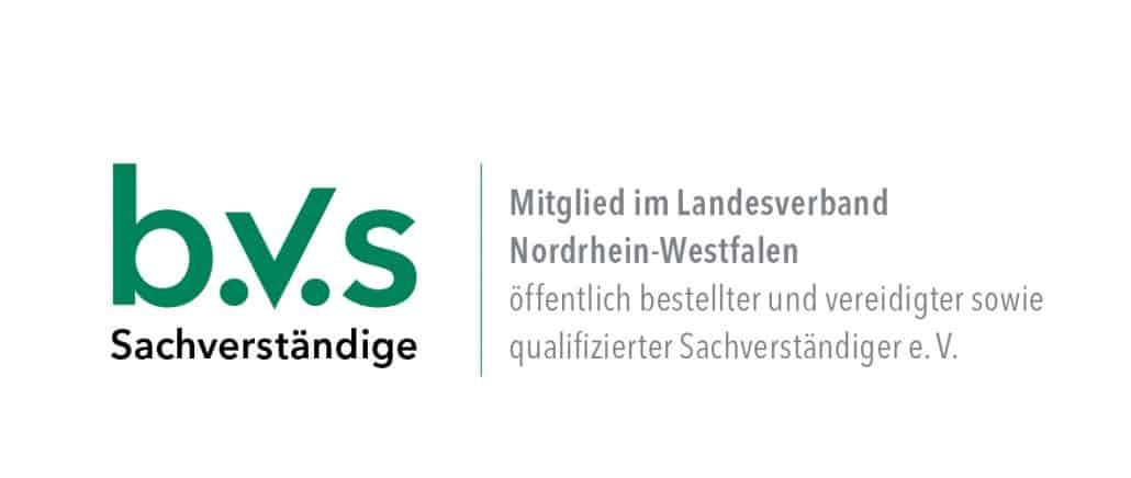 Mitglied im Bundesverband öffentlich bestellter und vereidigter sowie qualifizierter Sachverständiger e.V. (BVS)