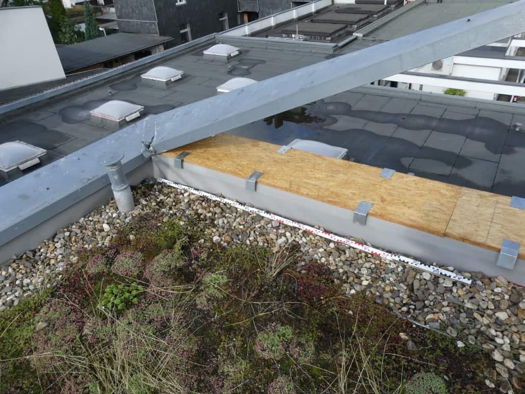 Gutachten am Bau - Sachverständiger für Metallarbeiten am Dach